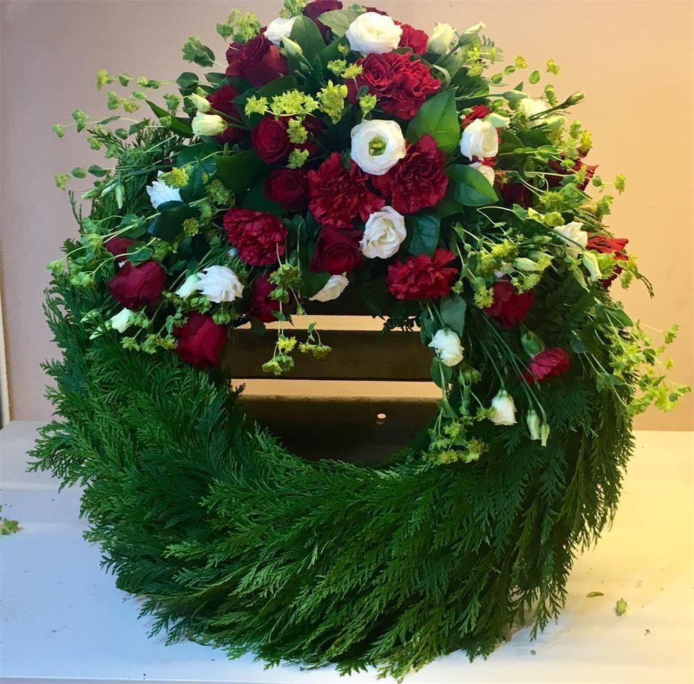 Begravning cyresskrans