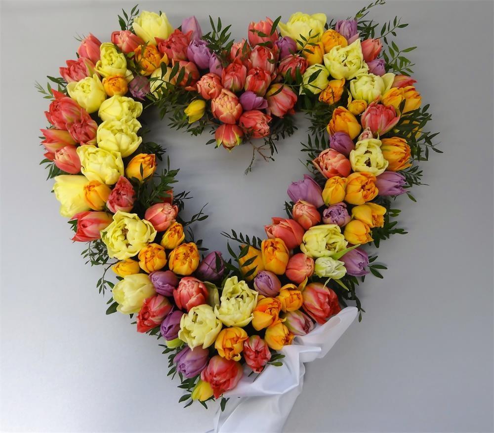 Blomsterhjärta öppet