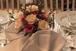 Bordsdekoration till bröllop eller annan högtid.