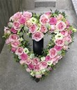 Begravningshjärta öppet